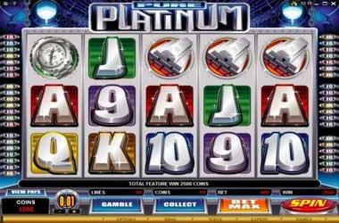 Pure Platinum Slot Game